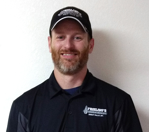 Duane Rahn, Frieling Ag Equipment Parts Department