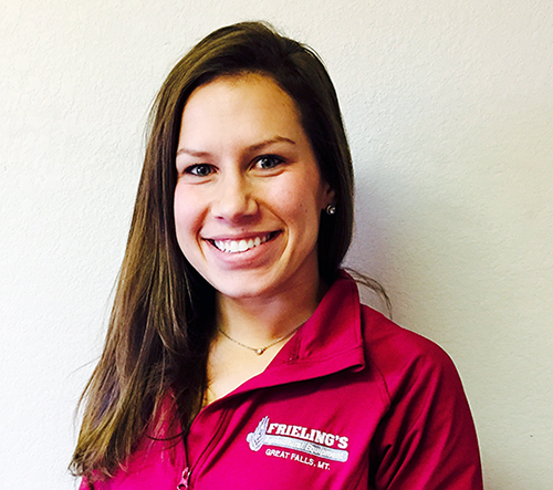 Shelbi Frieling, Frieling Ag Equipment Media Operations Manager