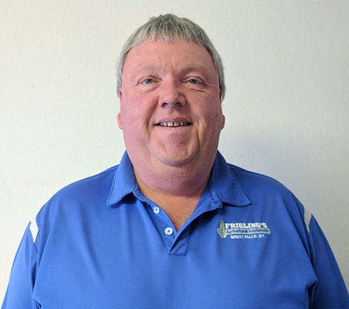 Terry Buchanan, Frieling Ag Equipment Parts/Delivery/Sales