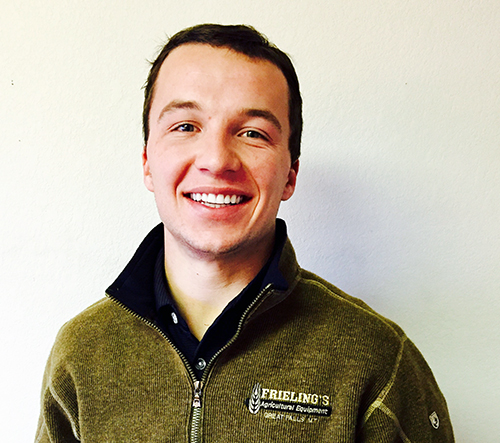 Tyler Frieling, Frieling Ag Equipment Associate Sales Manager