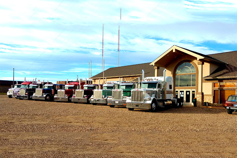 Frieling's Petebilt truck fleet